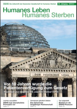 HLS Magazin 2019 - 2, Cover © DGHS