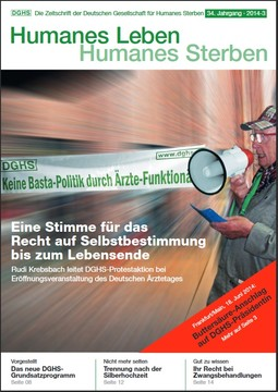 HLS Magazin 2014 - 3, Cover © DGHS