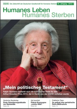 HLS Magazin 2015 - 1, Cover © DGHS