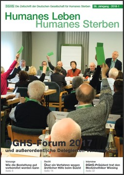 HLS Magazin 2018 - 1, Cover © DGHS