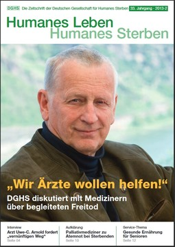 HLS Magazin 2013 - 2, Cover © DGHS