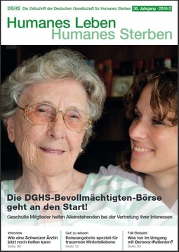 HLS Magazin 2016 - 2, Cover © DGHS