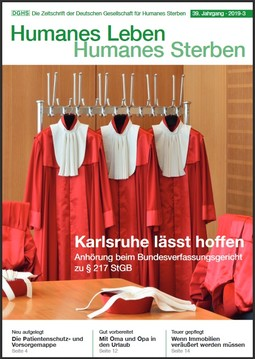 HLS Magazin 2019 - 3, Cover © DGHS