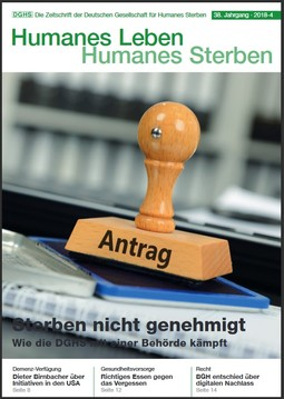 HLS Magazin 2018 - 4, Cover © DGHS