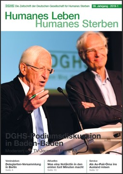 HLS Magazin 2019 - 1, Cover © DGHS