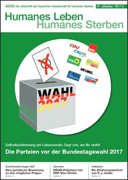 HLS Magazin 2017 - 3, Cover © DGHS