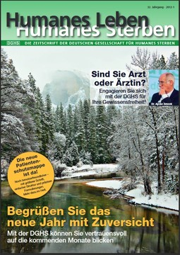 HLS Magazin 2012 - 1, Cover © DGHS