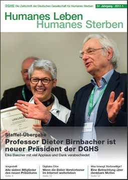 HLS Magazin 2017 - 1, Cover © DGHS