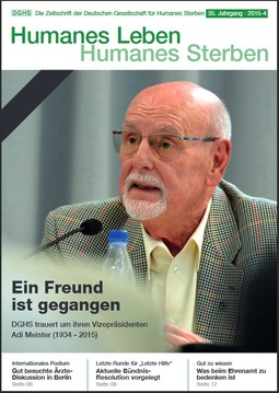 HLS Magazin 2015 - 4, Cover © DGHS